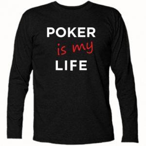 Koszulka z długim rękawem Poker is my life