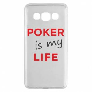 Samsung A3 2015 Case Poker is my life