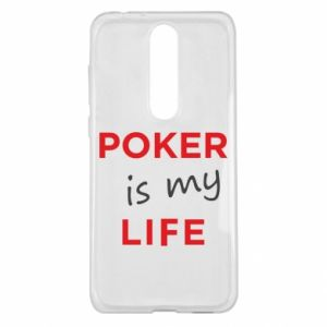 Nokia 5.1 Plus Case Poker is my life