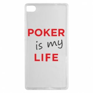 Huawei P8 Case Poker is my life