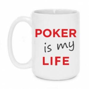 Kubek 450ml Poker is my life