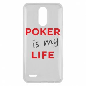 Lg K10 2017 Case Poker is my life