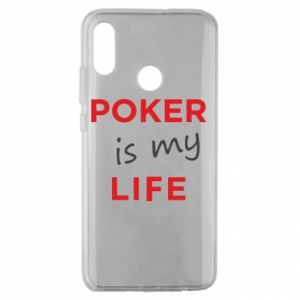 Huawei Honor 10 Lite Case Poker is my life