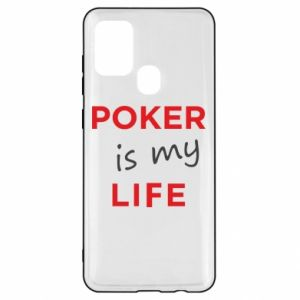 Samsung A21s Case Poker is my life
