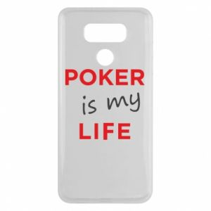 LG G6 Case Poker is my life