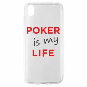 Huawei Y5 2019 Case Poker is my life