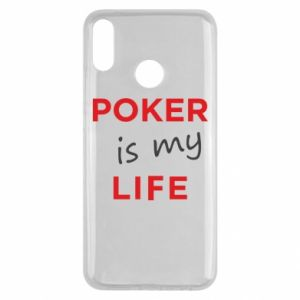 Huawei Y9 2019 Case Poker is my life