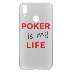 Huawei Y7 2019 Case Poker is my life