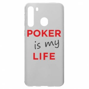 Samsung A21 Case Poker is my life