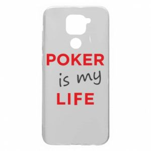 Xiaomi Redmi Note 9 / Redmi 10X case % print% Poker is my life