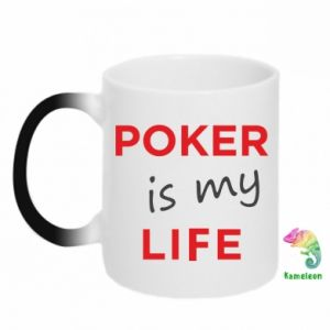 Magic mugs Poker is my life
