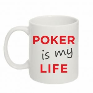 Mug 330ml Poker is my life