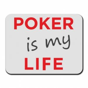 Mouse pad Poker is my life