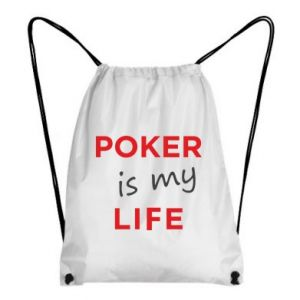 Backpack-bag Poker is my life