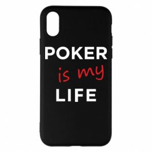 iPhone X/Xs Case Poker is my life