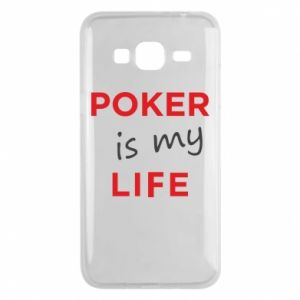 Samsung J3 2016 Case Poker is my life
