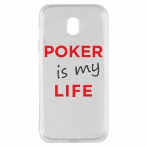 Samsung J3 2017 Case Poker is my life