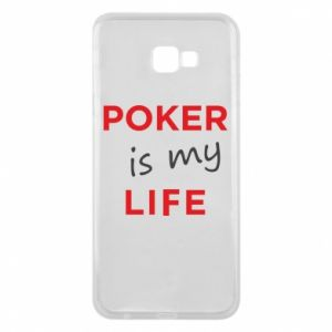 Samsung J4 Plus 2018 Case Poker is my life