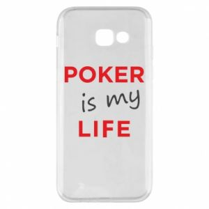 Samsung A5 2017 Case Poker is my life