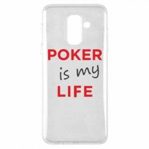 Samsung A6+ 2018 Case Poker is my life