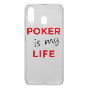 Samsung A20 Case Poker is my life