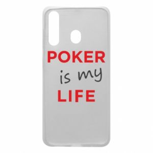 Samsung A60 Case Poker is my life
