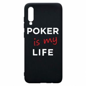 Samsung A70 Case Poker is my life