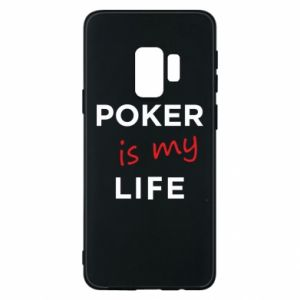 Samsung S9 Case Poker is my life