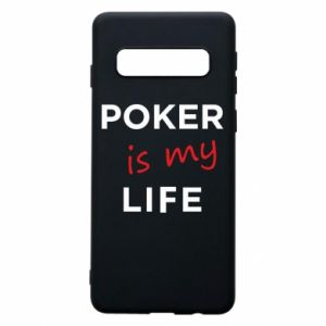 Samsung S10 Case Poker is my life