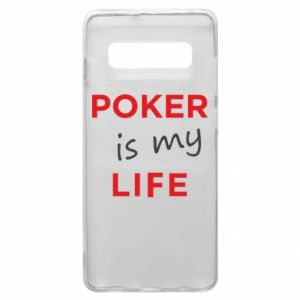 Samsung S10+ Case Poker is my life
