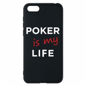 Huawei Y5 2018 Case Poker is my life