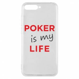 Huawei Y6 2018 Case Poker is my life
