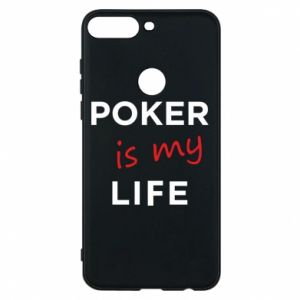 Huawei Y7 Prime 2018 Case Poker is my life