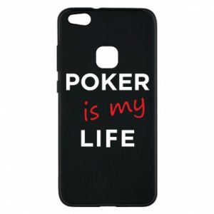 Huawei P10 Lite Case Poker is my life
