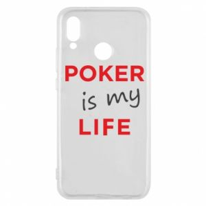 Huawei P20 Lite Case Poker is my life