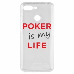 Xiaomi Redmi 6 Case Poker is my life