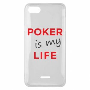 Xiaomi Redmi 6A Case Poker is my life