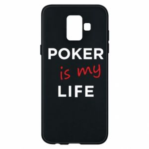 Samsung A6 2018 Case Poker is my life