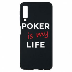 Samsung A7 2018 Case Poker is my life
