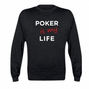 Kid's sweatshirt Poker is my life