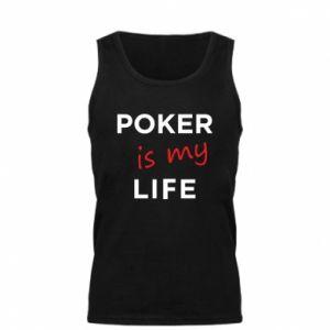 Męska koszulka Poker is my life