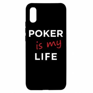 Xiaomi Redmi 9a Case Poker is my life
