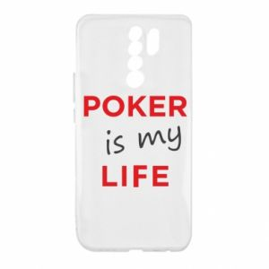 Xiaomi Redmi 9 Case Poker is my life