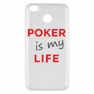 Xiaomi Redmi 4X Case Poker is my life