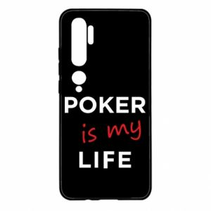 Xiaomi Mi Note 10 Case Poker is my life