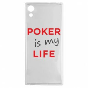 Sony Xperia XA1 Case Poker is my life