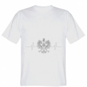 Koszulka Poland cardiogram