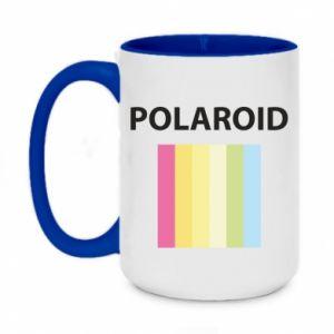 Kubek dwukolorowy 450ml Polaroid
