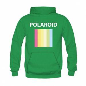 Bluza z kapturem dziecięca Polaroid