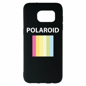 Etui na Samsung S7 EDGE Polaroid